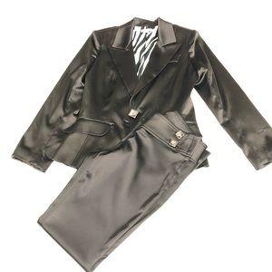 Cache Satin Pant Suit
